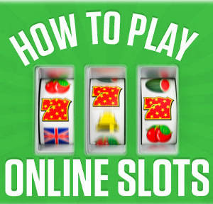 How to Play Online Casino Slots Logo