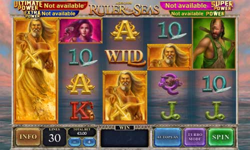 Age of the Gods Ruler of the Seas Slot Screenshot Review