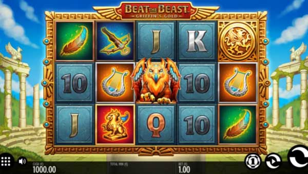 Beat the Beast Griffins Gold Slot Screenshot Review