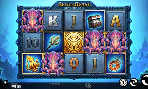 Beat the Beast Krakens Lair Slot Screenshot Review
