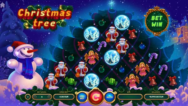 Christmas Tree Slot Screenshot Review