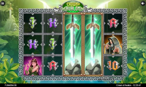 Crown of Avalon Slot Screenshot Review