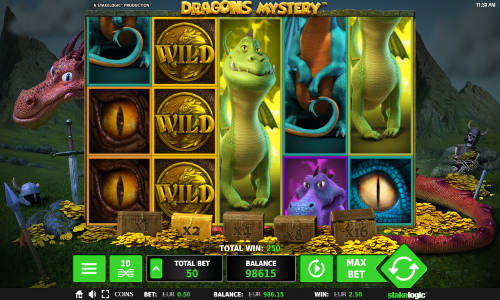 Dragons Mystery Slot Screenshot Review