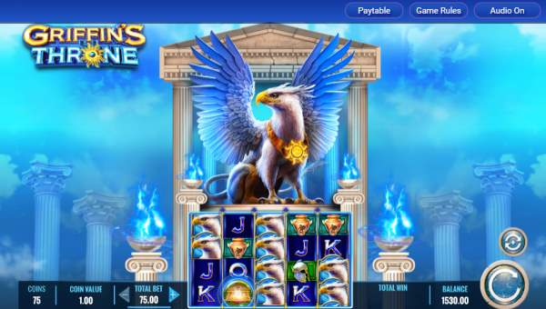 Griffins Throne Slot Screenshot Review