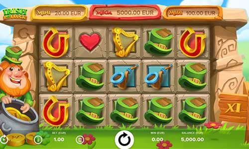 Irish Pot Luck Slot Screenshot Review