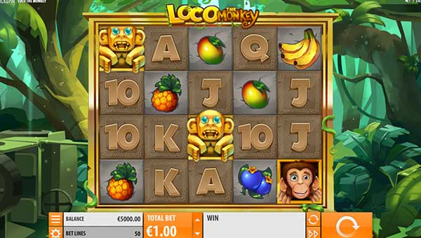 Loco the Monkey Slot Screenshot Review