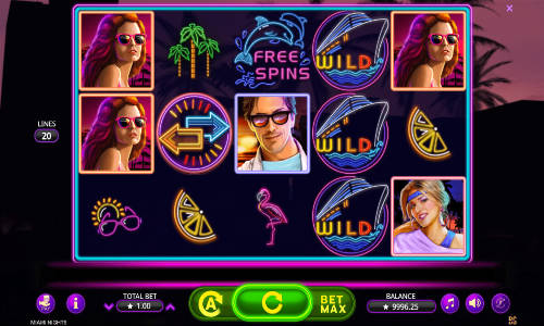 Miami Nights Slot Screenshot Review