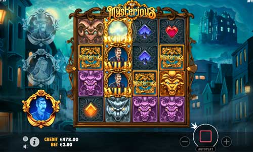 Mysterious Slot Screenshot Review
