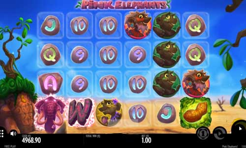 Pink Elephants Slot Screenshot Review