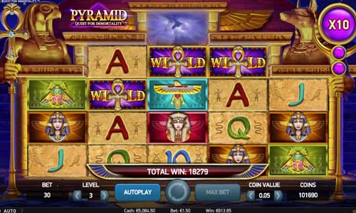 Pyramid Quest for Immortality Slot Screenshot Review