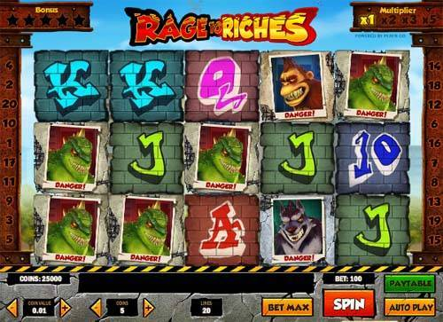 Rage to Riches Slot Screenshot Review