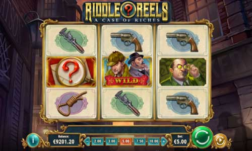 Riddle Reels A Case of Riches Slot Screenshot Review