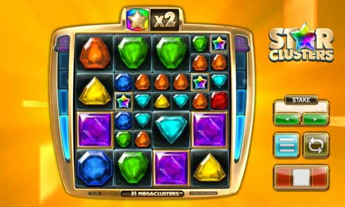 Star Clusters Megaclusters Slot Screenshot Review