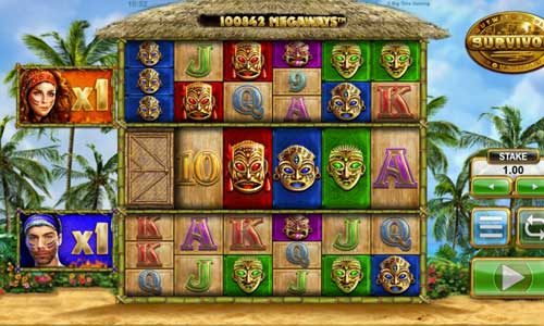 Survivor Megaways Slot Screenshot Review