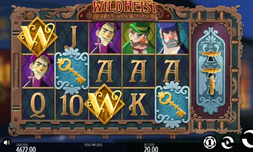 Wild Heist at Peacock Manor Slot Screenshot Review